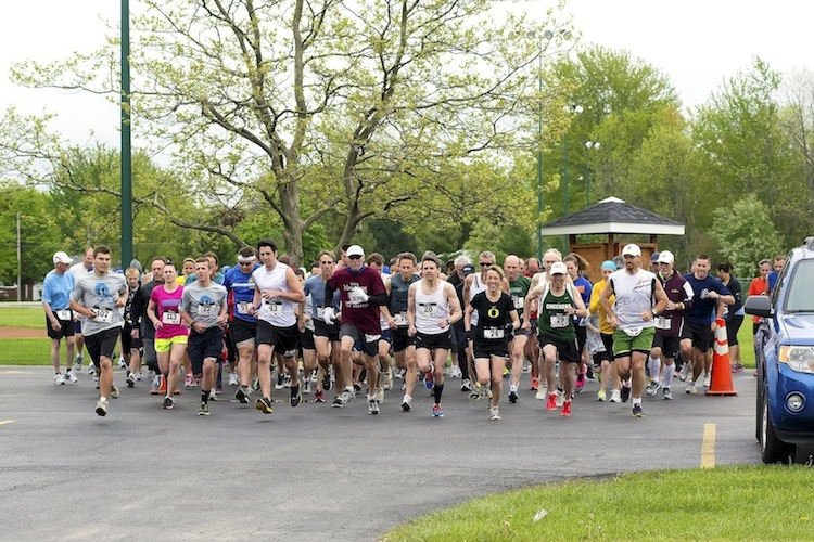 Nancy Price Run 2013: The runners were off at 10 a.m.