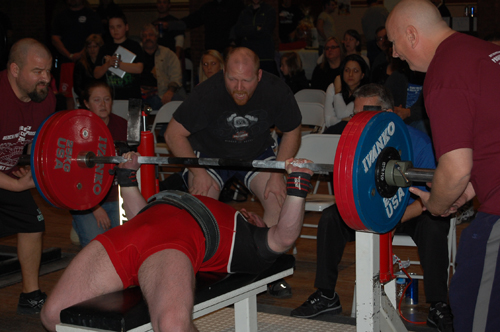 Weightlifters from New York, the northeast and around the world will compete next weekend in the 10th annual USPA Red Brick Bench Press Championship.