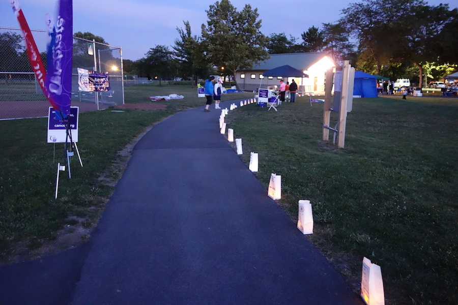 The Luminaria Walk from last year's Lewiston/Niagara Relay For Life at Reservoir State Park. (file photo)