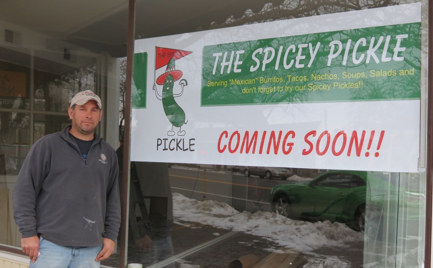 Aaron Rotella is opening The Spicey Pickle in Lewiston a little later this winter.