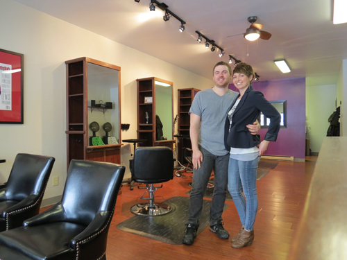 William Beyer and Stephanie Speziale have opened Studio 763 in the Village of Lewiston.