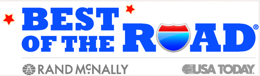 Rand McNall/USA Today `Best of the Road` and `Best for Food`
