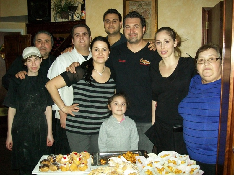 The Casa Antica family.