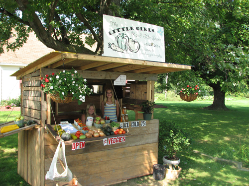 Roadside stands are again open, with quality Niagara County produce. (file photo)