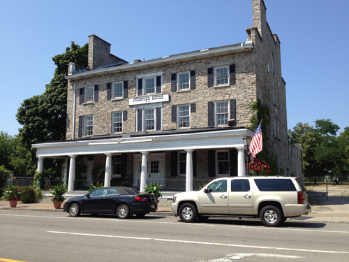 The Frontier House on Center Street in Lewiston.