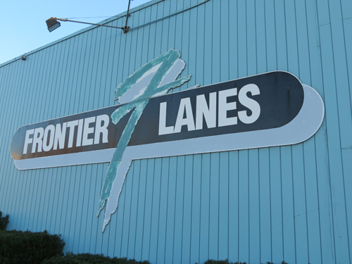 Bowlers and guests will notice a cleaner, brighter Frontier Lanes.
