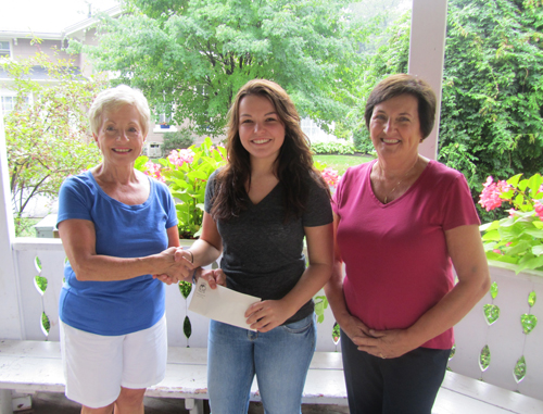 The Lewiston Garden Club has awarded its 2012 scholarship of $1,000 to Amanda Smith.