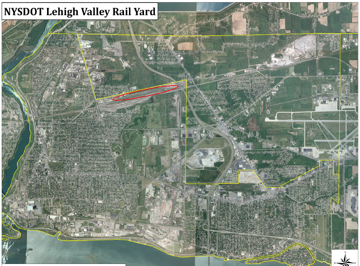 Lehigh Valley Rail Yard