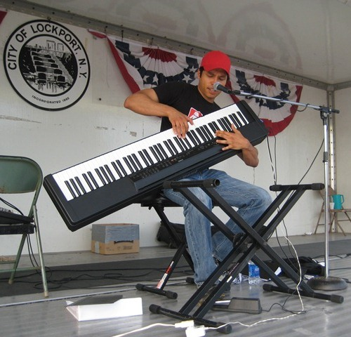 Lenny Revell on keyboard will return to the Niagara County Fair stage Aug. 3 at 5 p.m. For the complete fair schedule, visit www.niagaracountyfair.org.