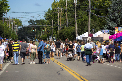 The annual Newfane Town Celebration.