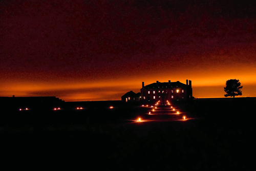 `Castle by Candlelight` at Old Fort Niagara.