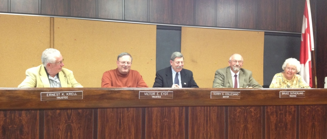 The Village of Lewiston Board of Trustees approved the 2012-13 budget at a special meeting on Monday.