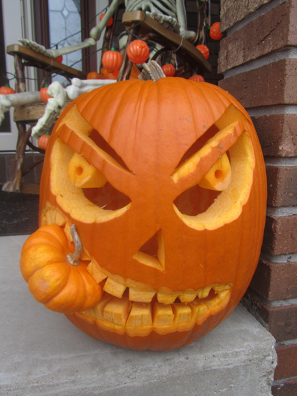 Now Your Most Decorative Scariest Funniest Or Craziest Pumpkin Designs Can