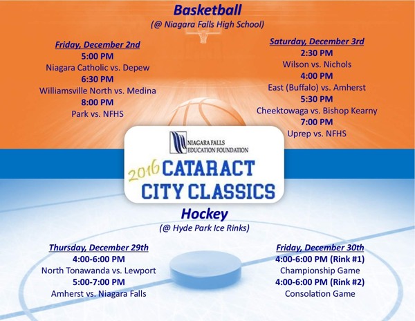 Cataract City Classic (Image used with permission)