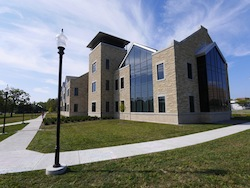 Niagara University's B. Thomas Golisano Center for Integrated Sciences.