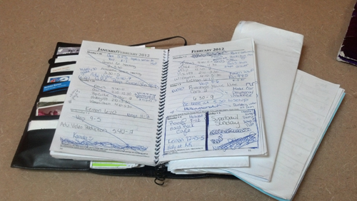 You may not think that having a planner is helpful, or it's just another `book` you have to carry around, but a `Little Black Book` can save your day.
