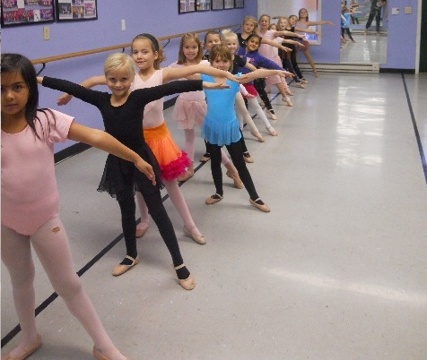 Shown are some of the students from Lewiston Dance Center whom the newly formed LDC Family Booster Club will benefit.