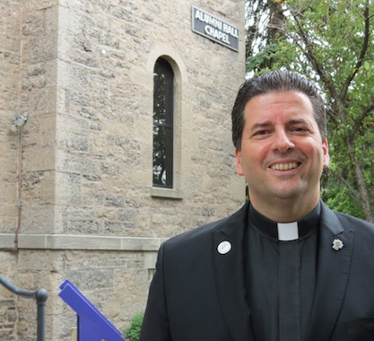 The Rev. James J. Maher, C.M., Niagara University president.