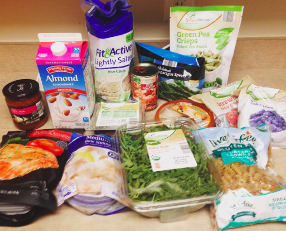 This week's grocery haul from ALDI's. This is a favorite place to shop - especially if you're on a budget!