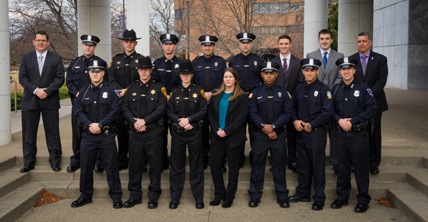 Niagara County Law Enforcement Academy graduates.