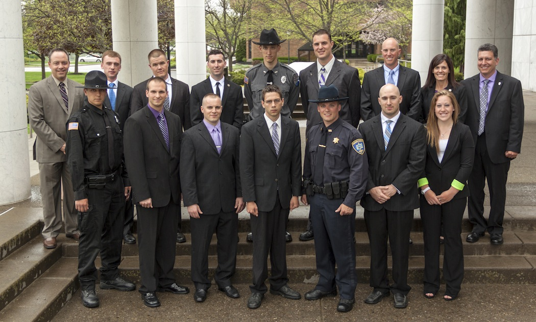 The 55th graduating class of the Niagara County Law Enforcement Academy,