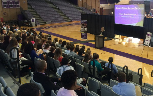 Niagara University hosted a `Life After Sports` event for students.