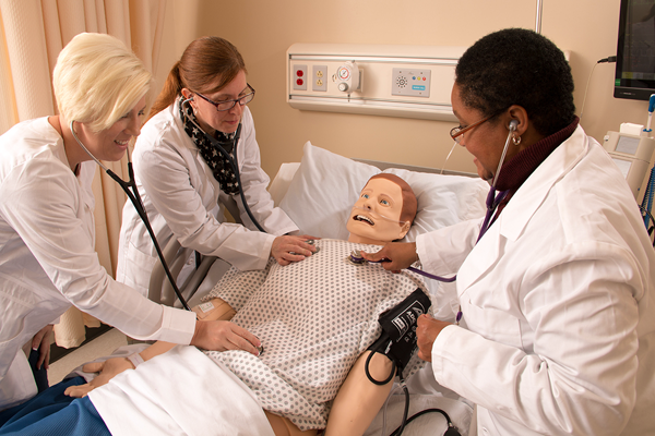 Niagara University School of Nursing participants in action. (Submitted photo)