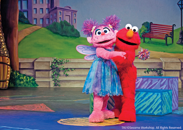 `Sesame Street Live` `Make a New Friend` is headed to Buffalo. Shown are Abby and Elmo. (Images courtesy of VStar Entertainment Group)