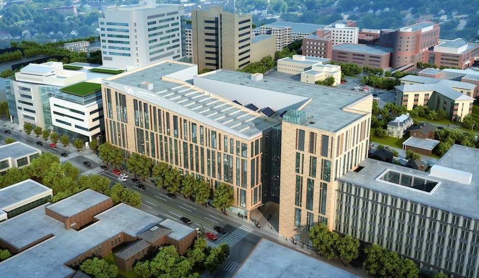 UB's new medical school will bring 2,000 faculty, students and staff to downtown Buffalo. The new school will greatly enhance clinical education, produce new research leading to advances in medical treatments and technologies, and help make Buffalo a destination for world-class health care.