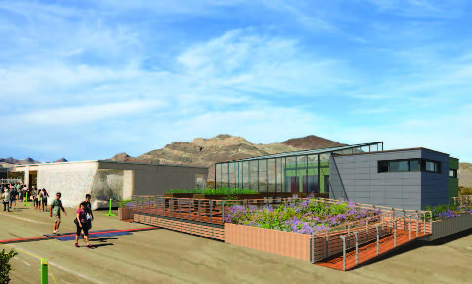 A rendering shows the solar-powered `GRoW House,` whose features include a 649-square-foot greenhouse where home gardeners can grow vegetables in any weather. (credit: Ned Schelleng, produced in a design studio led by Brad Wales)