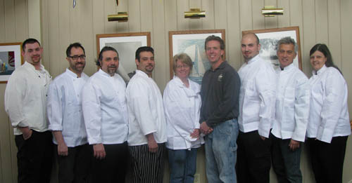 Top chefs, like the ones pictured here, will participate in the Lewiston Region Tour of Kitchens in June.