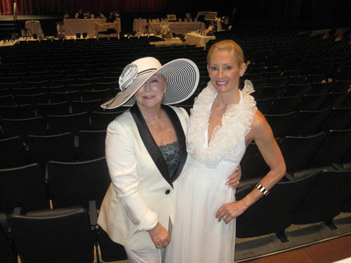 `Black & White Ball` co-chairwoman Rose Gellman and Sophia Smith, `Black & White Ball` chairwoman.