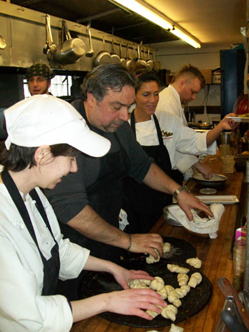 Casa Antica culinary master Jack Soldano and his talented team of top chefs.