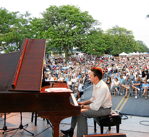 Crowds in the tens of thousands are again expected to fill Center Street for the Historic Lewiston Jazz Festival, Aug. 27 and 28 in the Village of Lewiston.