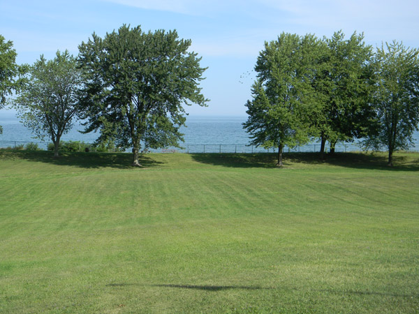 The lakeside is one area eyed by the Town of Porter for placement of a new `stage` pavilion at Porter on the Lake Park.