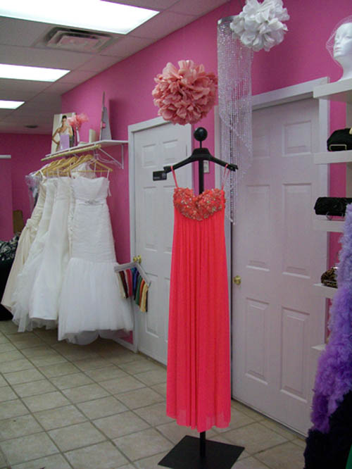 Prom attendees can buy a gown like this Kature model.