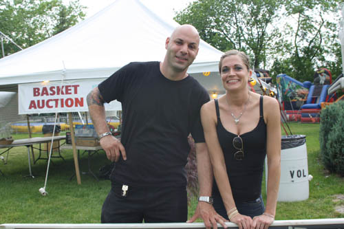 Ken Scibetta and Allison Greene at PubFest 2011 (photo by Vicki DeVantier)