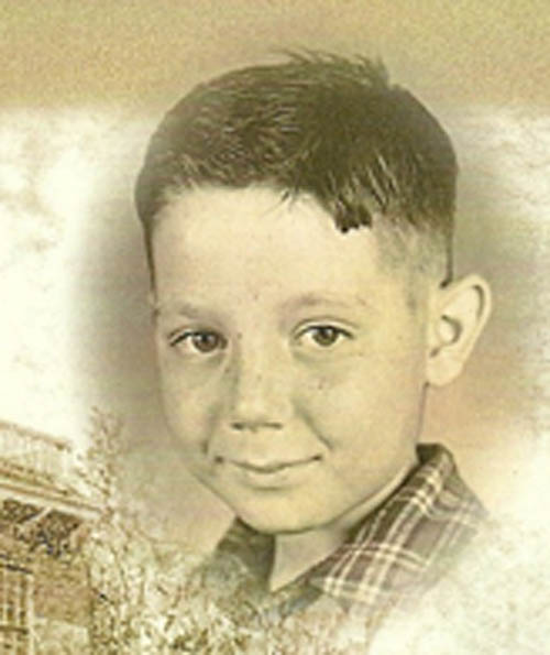Terry Collesano as a boy.