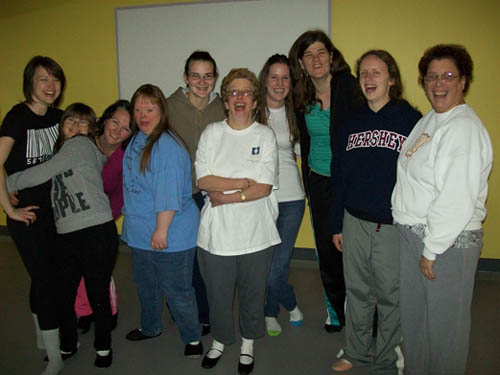 The teachers and students of `Graceful & Gifted.` (photo by Joshua Maloni)