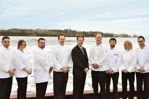 Chefs participating in the 2011 Tour of Kitchens and Homes.