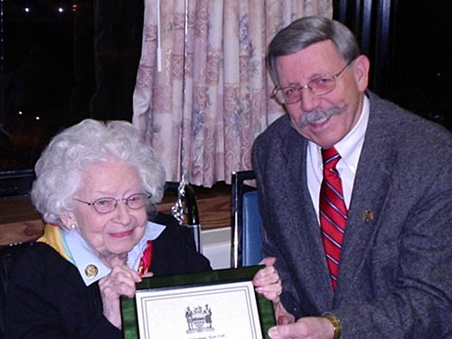 Village honors Norma Dixondixon village