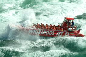 Whirlpool Jet Boat Tours.