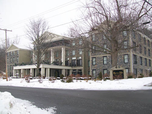 The Barton Hill Hotel & Spa in the Village of Lewiston.