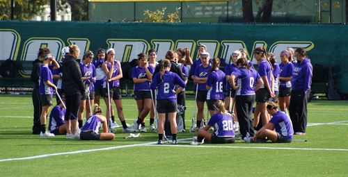 Niagara University women's lacrosse team. (photo courtesy of NU Athletics Department)
