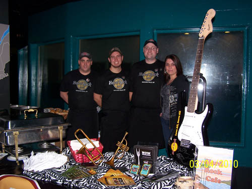 Pictured is a crew from the Hard Rock at a previous `SEAsonings` event. (file photo)