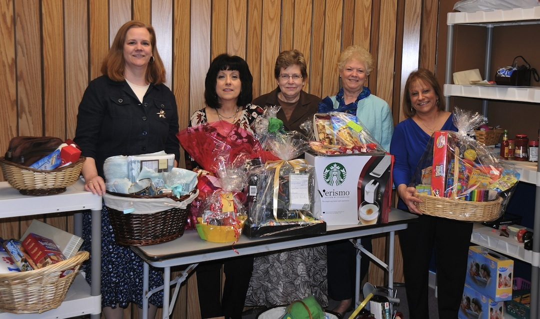 Pictured from left to right are Ann Salhany, Kathy Fadel, Jane Solberg, Rose Kargatis and Renee Zaleski.