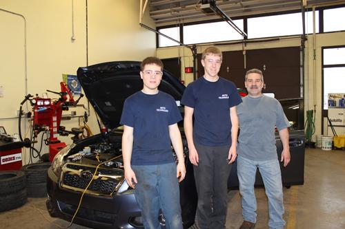 Automotive Students Win Ohio College Scholarships