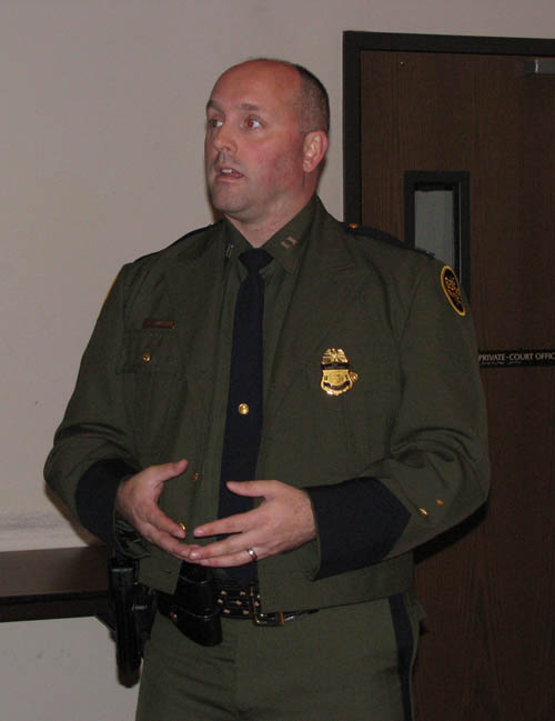 Supervisory Border Patrol Agent Christopher Griffiths