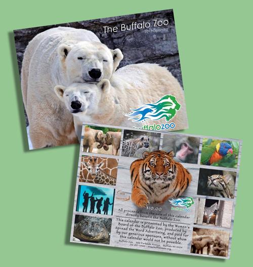 Zoo Calendar : Buffalo zoo calendar available