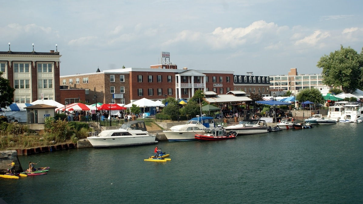 There's always lots of action at North Tonawanda's Canal Fest.